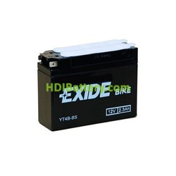 Batería AGM Exide moto YT4B-BS 12V. 2,3 Ah